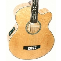 MKDF4N - Dragonfly 4 Telli Fretless Akustik Bass Gitar - Natural