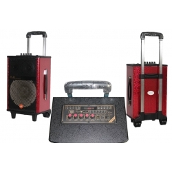 PWR8A - 50 Watt Taşınabilir Şarjlı Amplifikatör