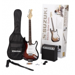 SST1SBPK - Elektro Gitar Seti (Sunburst)