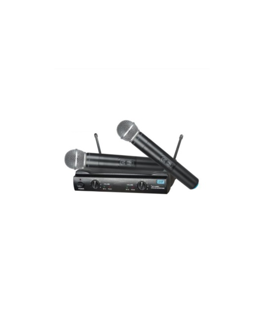UHM200 - Kablosuz Çift Mikrofon Seti