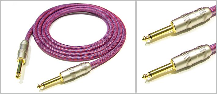 IW241PRG - 3 Metre Enstrüman Kablosu - Mor