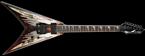 Dave Mustaine - Angel of Death Elektro Gitar