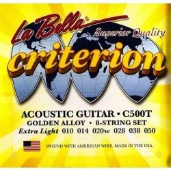 Criterion 10-52 Light - Akustik Gitar teli
