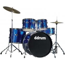 D2 - 5 Parça Davul Seti - Police Blue