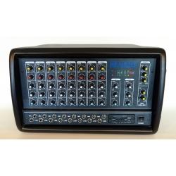 N8MXR - 8 Kanal 2X400 Küp Mixer ( Efektli ve Usb Girişli )